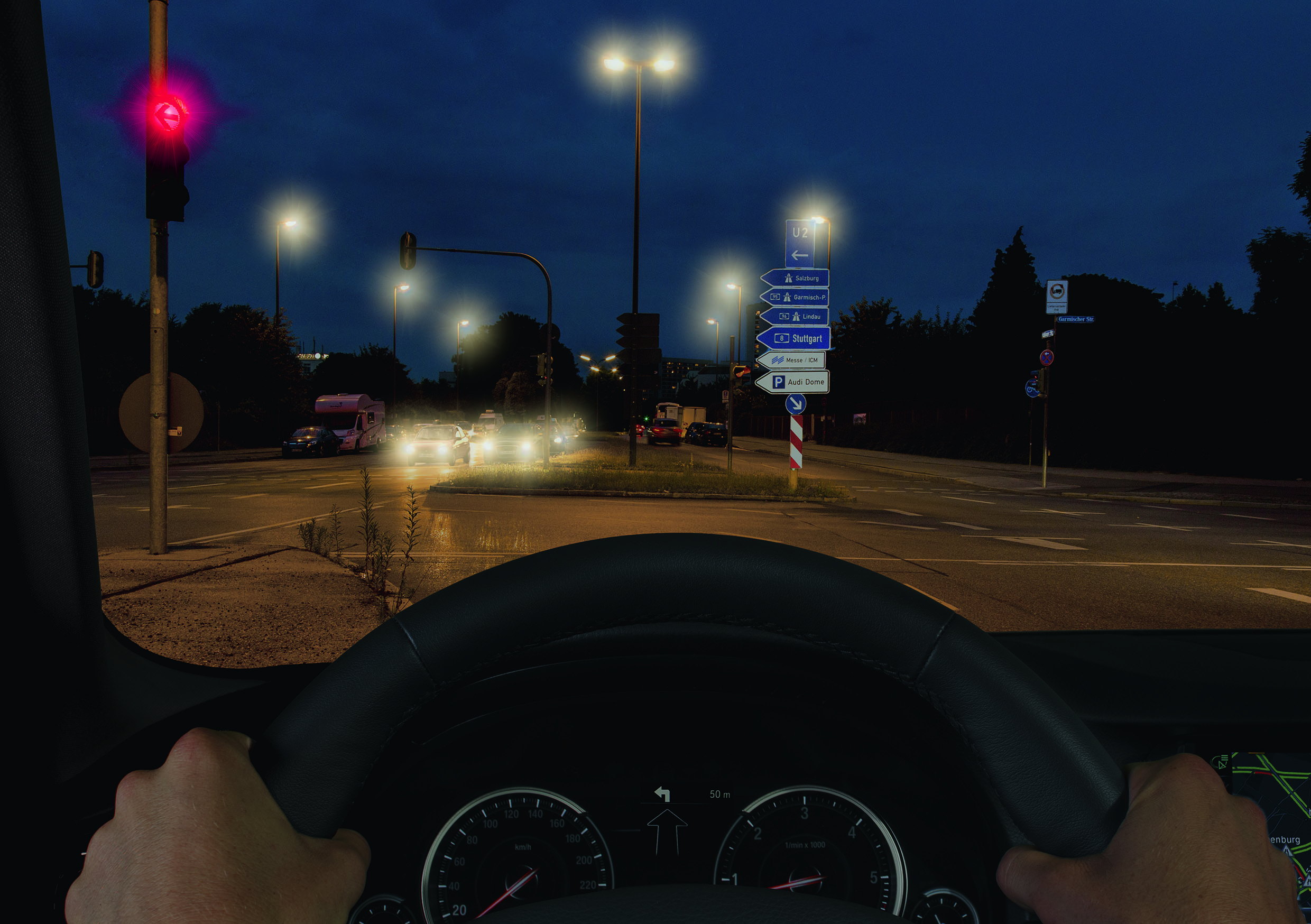 1 Night vision without Road